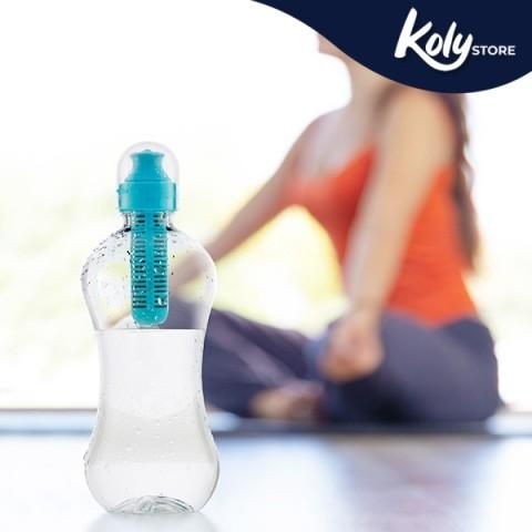 Bottiglia con Filtro di Carbonio