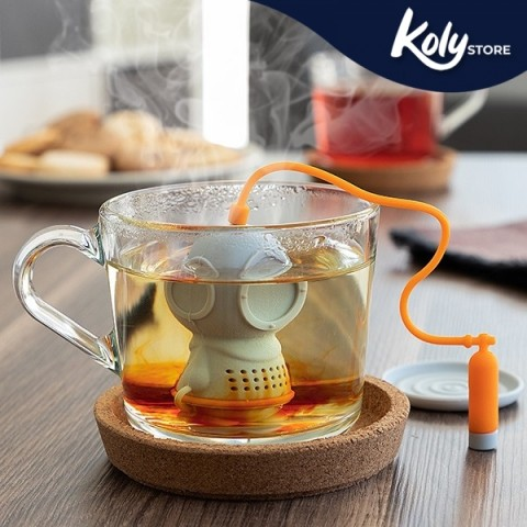 Infusore da Tè in Silicone Diver·t