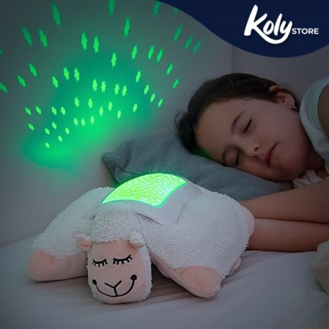 Peluche Proiettore LED Pecora