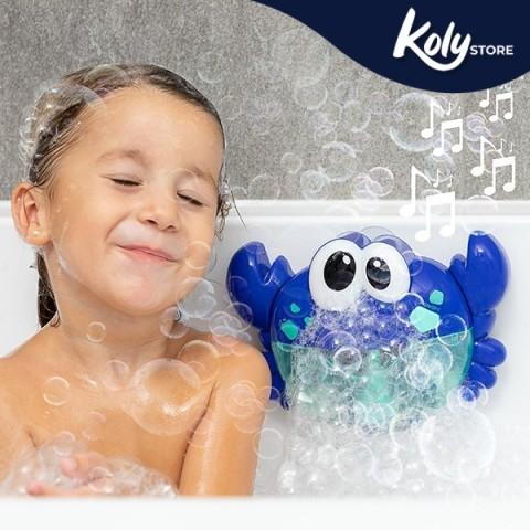 Granchio musicale con bolle di sapone...
