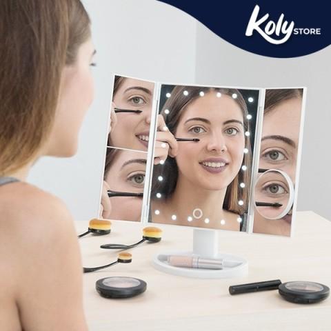 Specchio a LED con Ingrandimento 4 in 1