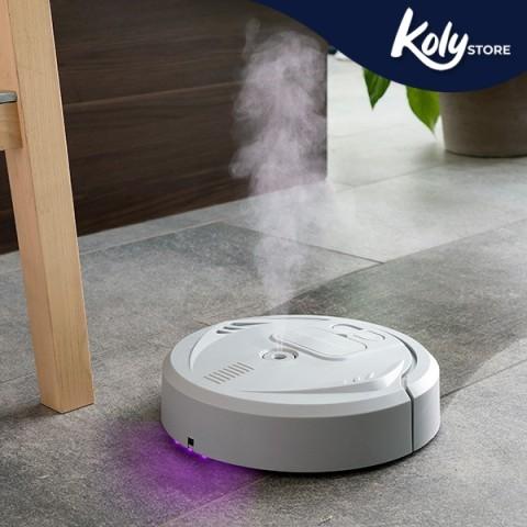 Robot Lavapavimenti Ricaricabile 4 in...